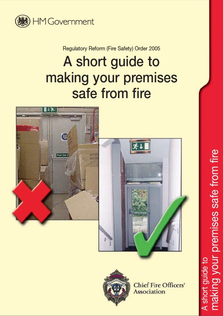 A short guide to making your premises safe from fire