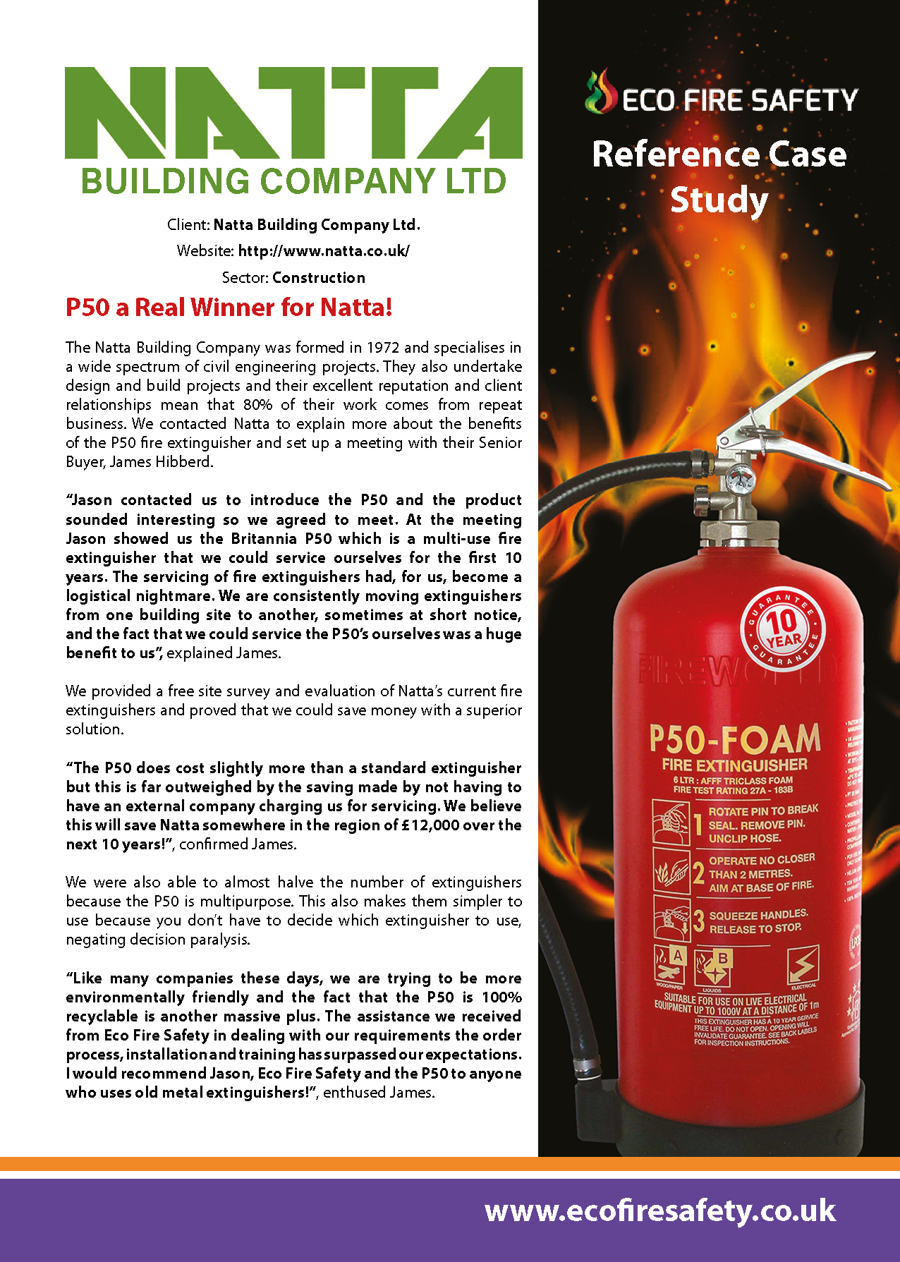 fire case studies